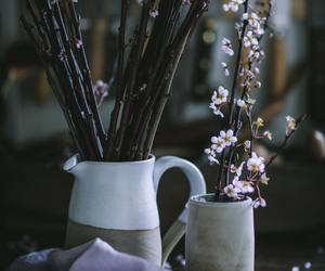 flowers, home decor, and pitcher image