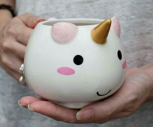 unicorn, cup, and mug image