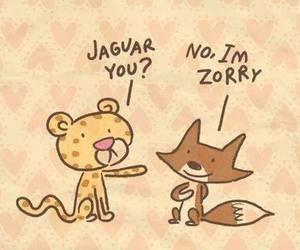jaguar, animal, and funny image