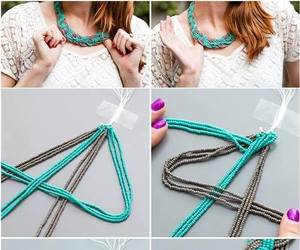 diy, bracelet, and necklace image