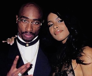 aaliyah, tupac, and 2pac image