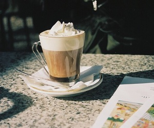 cafe, coffee, and cappuccino image