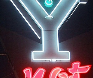 neon, red, and blue image