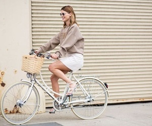 bike, style, and blond image