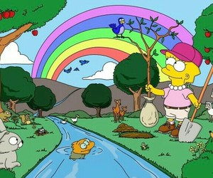 the simpsons and earth day image