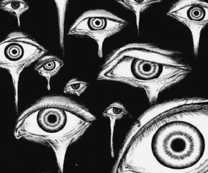 eyes, trippy, and psych image