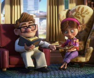 up, love, and couple image