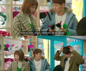 amor, hate love relationship, and weightlifting fairy image