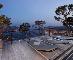 luxury, sea, and house image