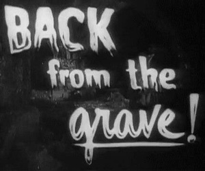 grave, movie, and terror image