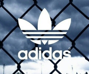 adidas, background, and sky image