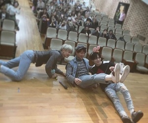 Minho, Taemin, and Onew image