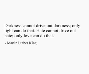 martin luther king, quote, and racism image