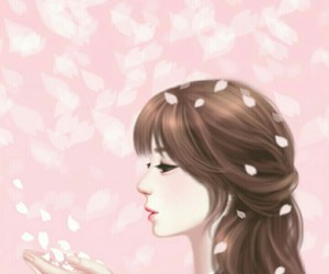 background, cherry blossom, and illustration image