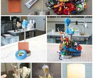 diy, idea, and lamp image