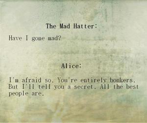 alice in wonderland, alice, and quotes image
