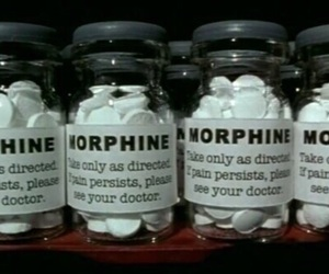 morphine, drugs, and pills image