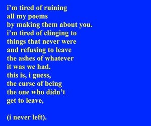 blue, quote, and love image