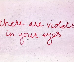 eyes, handwritten, and Lyrics image