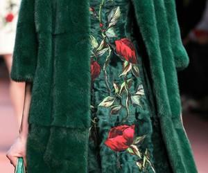 fashion, Dolce & Gabbana, and green image