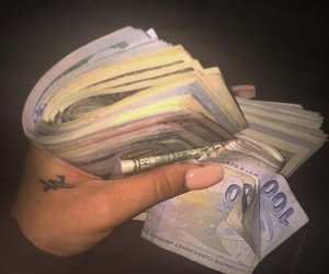 money, goals, and nails image