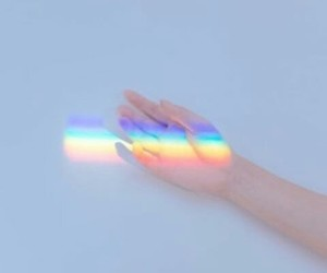 aesthetic, hand, and pastel image