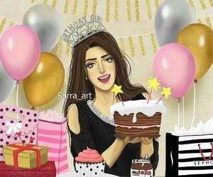 birthday and art image