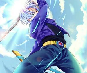 dragon ball and trunks brief image