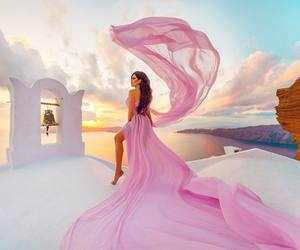 pink and fashion image