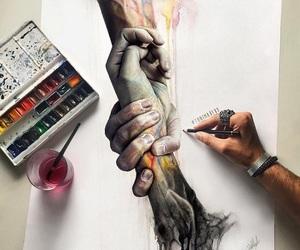 art, drawing, and toni mahfud image