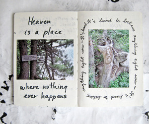 art, journal, and nature image