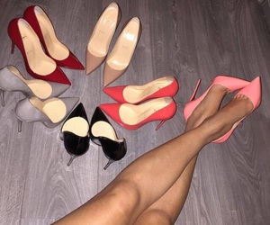 fashion, shoes, and louboutin image