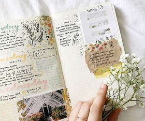 journal and cute image