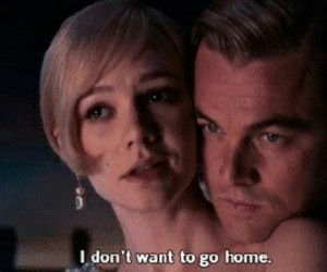 the great gatsby, daisy, and leonardo dicaprio image