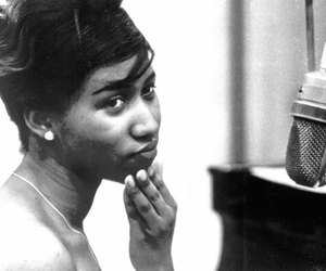 aretha franklin and people. music image