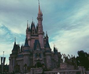 castelo, castle, and cinderela image