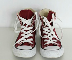 aesthetic, converse, and red image