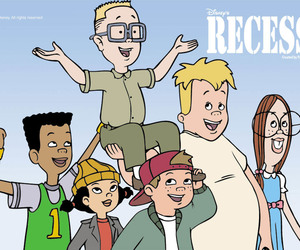 disney, recess, and 90s image