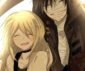 satsuriku no tenshi, anime, and cute image