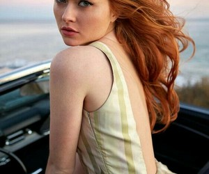 model, gingers, and beauty image