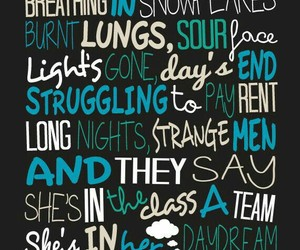 music, ed sheeran, and Lyrics image