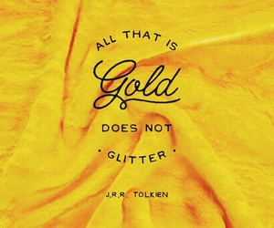 gold, quotes, and yellow image