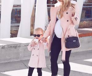 girl, fashion, and baby image