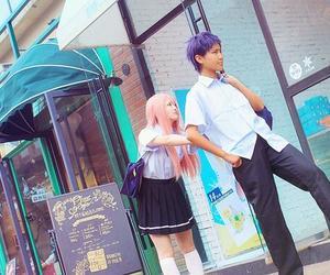 cosplay, satsuki momoi, and kuroko no basuke image