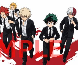 boku no hero academia and my hero academia image