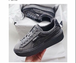 grey, fenty, and puma image