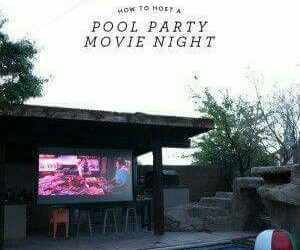 ideas, movies, and pool party image