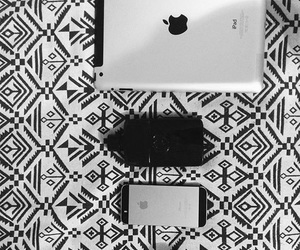 black, iphone, and silver image