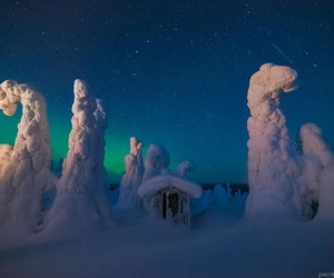 snow, beautiful, and finland image