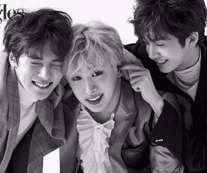 monsta x, wonho, and hyungwon image